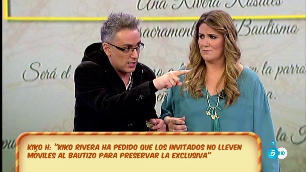 """Kiko H., de Kiko Rivera: """"Ha incrementado el precio de la exclusiva del bautizo porque va a haber petición de mano"""""""