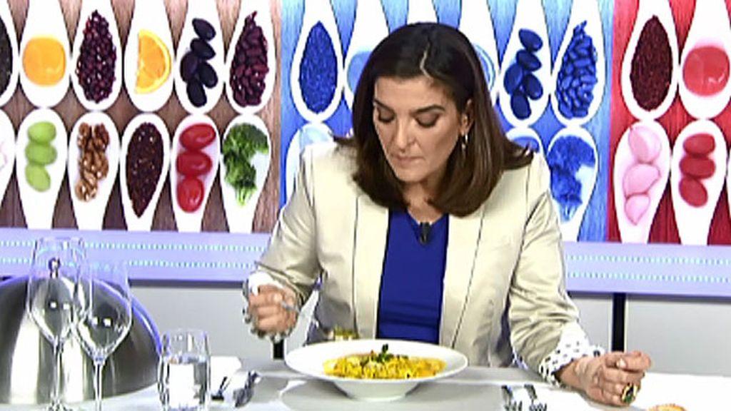 """María Jiménez Latorre, sobre la cazuelita de fideos: """"El calamar no está limpio"""""""