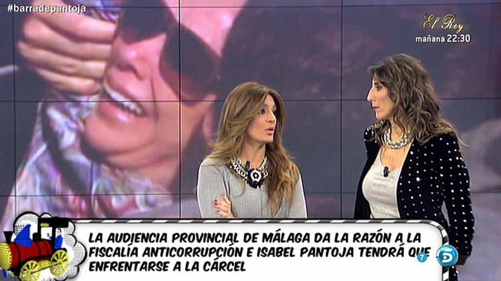 """Raquel Bollo, sobre Isabel Pantoja: """"Ella pensaba que no iba a haber otra solución"""""""