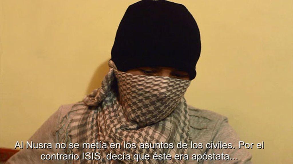 """Terrorista Al Nusra: """"Una vez empezaron a disparar a los civiles decidí alistarme"""""""