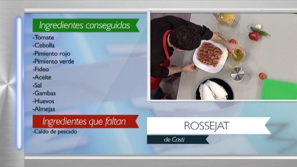 Juanra Bonet cocina un 'Rossejat de fideos' al estilo de su madre Casti