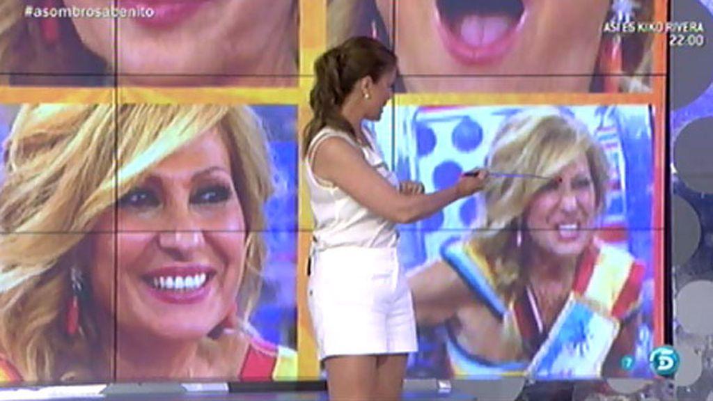 Cris Soria analiza los gestos de Rosa Benito durante su sorpresa del quinto aniversario