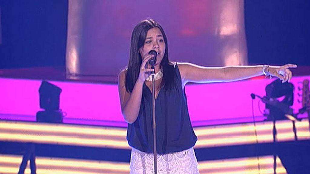 La actuación de Pilar: 'Cuando nadie me ve'