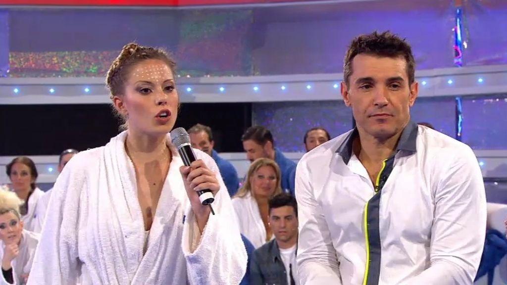 """Andrea Huisgen, contra el jurado: """"El salto de Sandro ha estado peor que el mío"""""""