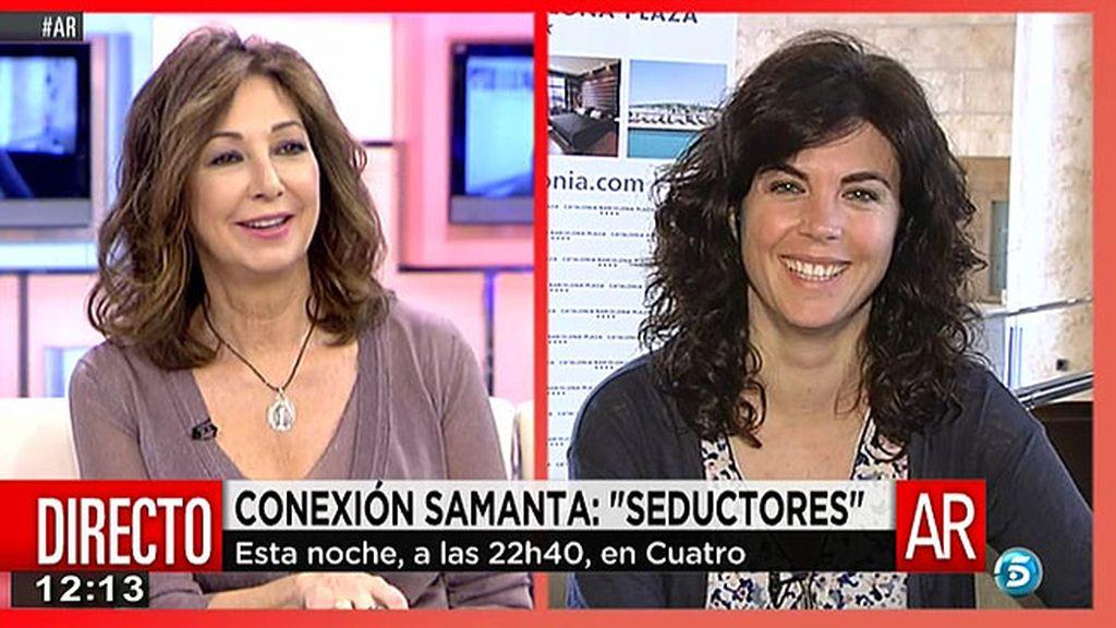 """Samanta Villar: """"No todo tiene que ser peligros, también hay alegría y seducción en la vida"""""""