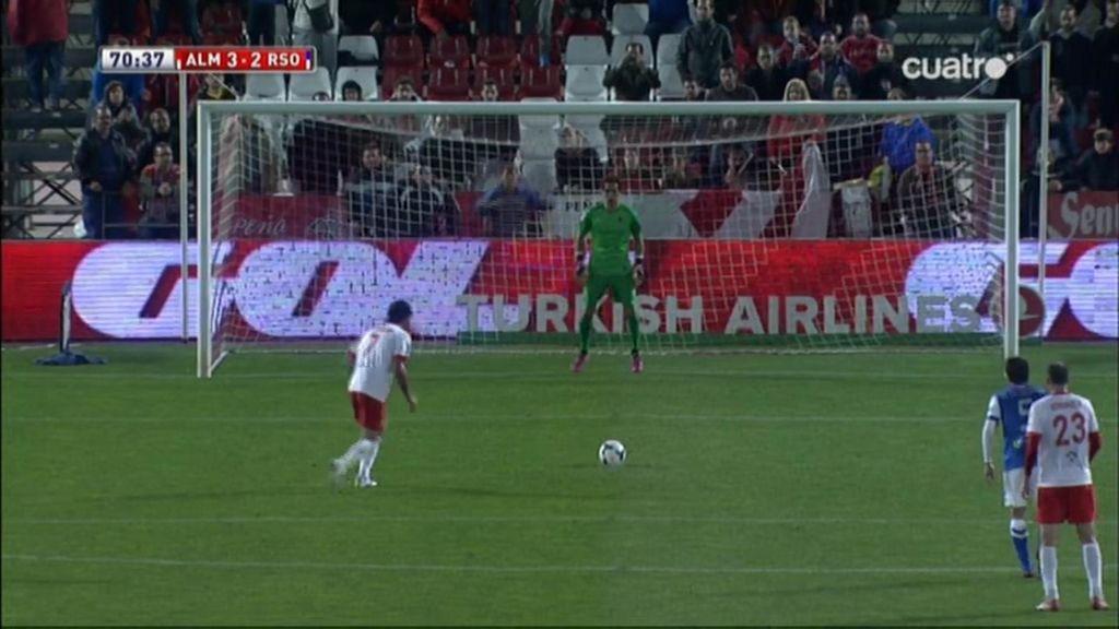 Gol de Verza (Almería 3-2 Real Sociedad)