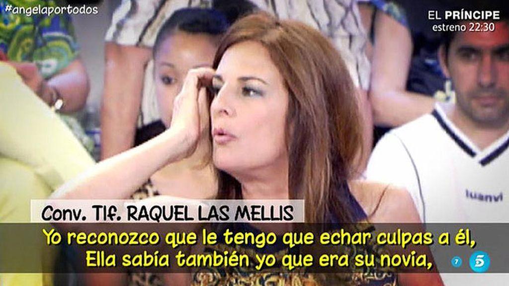 """Raquel de 'Las Mellis': """"Mi novio se fue un fin de semana con Ángela Portero"""""""