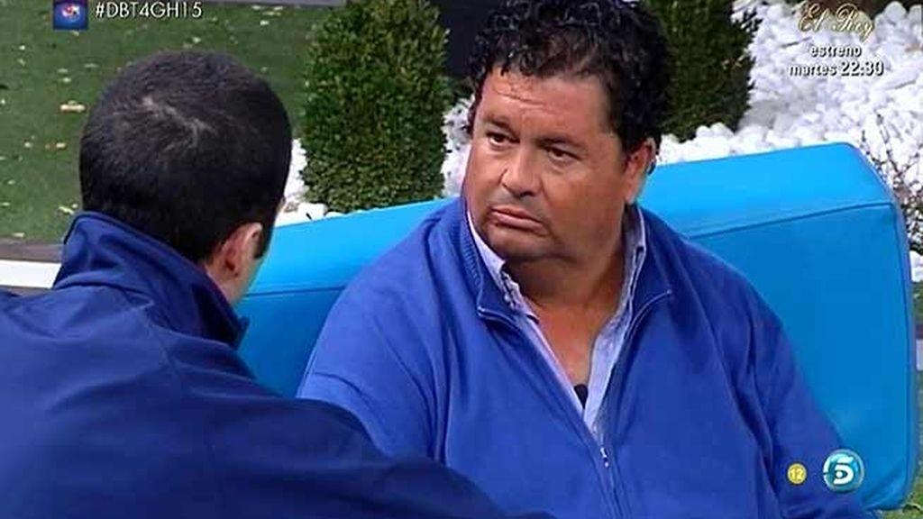 """Luis advierte a Luis: """"Quieres quedar bien con todo el mundo y eso parece falso"""""""