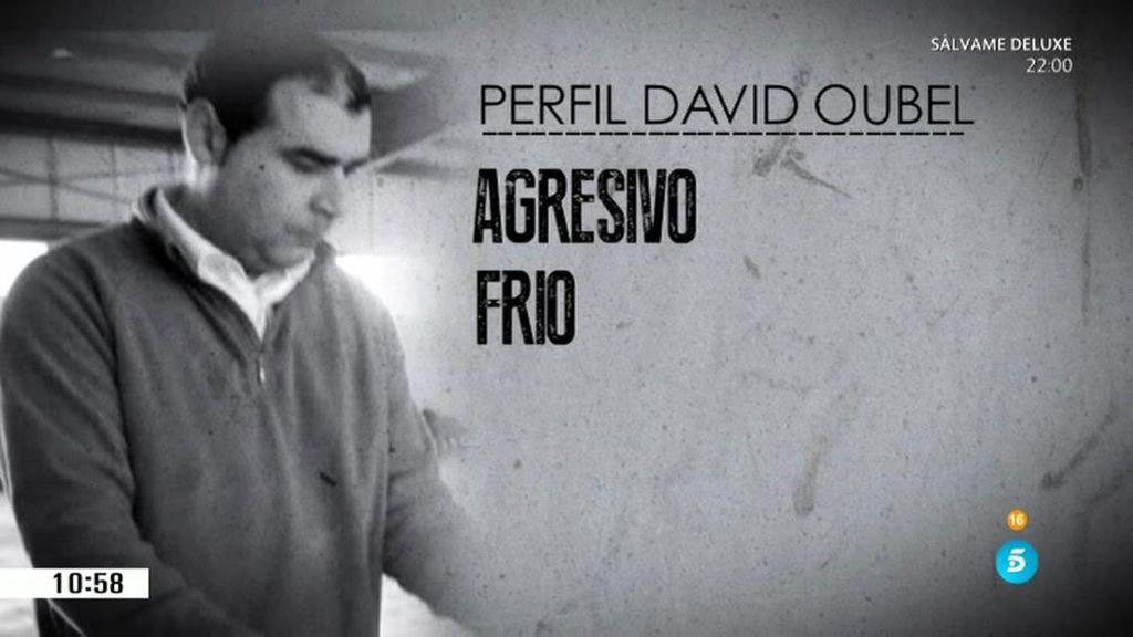 Frío, altivo y sin remordimiento: así es David Oubel, el parricida de Moraña