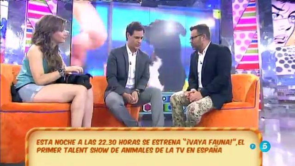 Christian Gálvez nos habla del nuevo talent show: '¡Vaya fauna!'