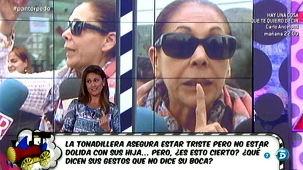 La experta Cristina Soria analiza el comportamiento de Isabel Pantoja
