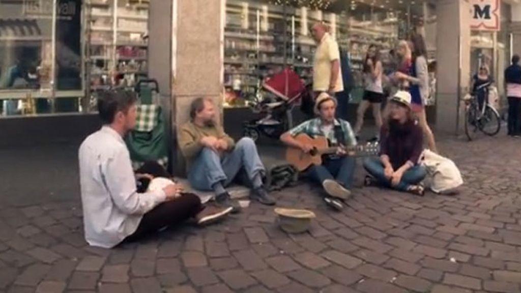 Tres músicos, por un mundo mejor