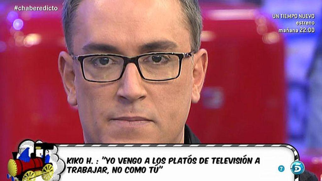 """Kiko, a Alberto Isla: """"Como digas que lo que cuento es mentira, me someto al 'PoliDeluxe"""""""