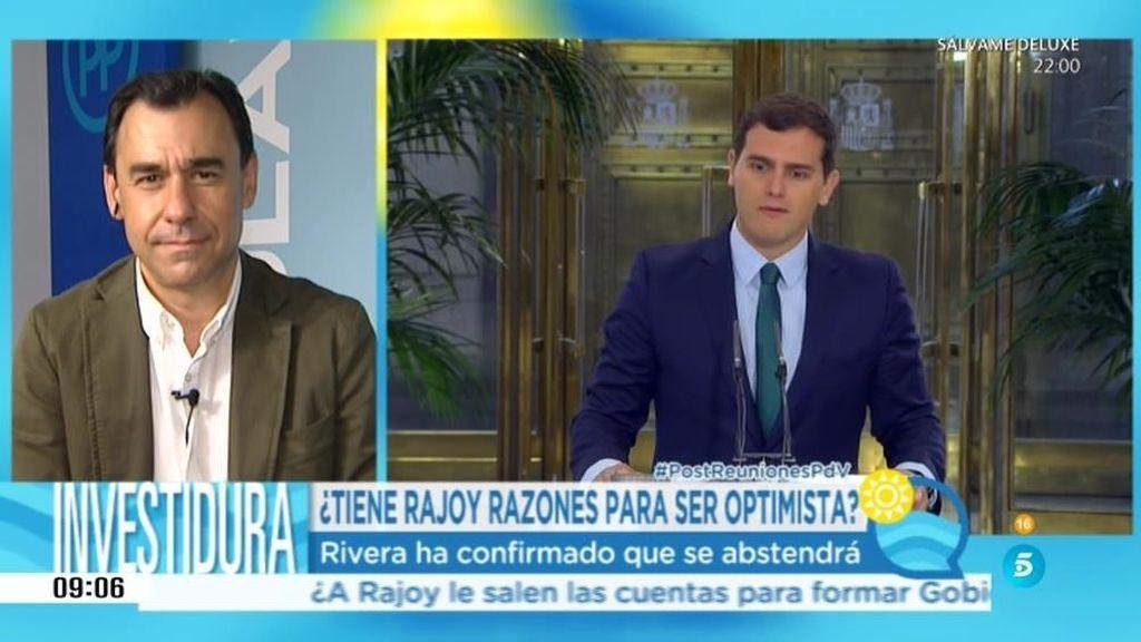 """Rivera: """"Nosotros facilitamos que este país se ponga en marcha, vamos a abstenernos"""""""