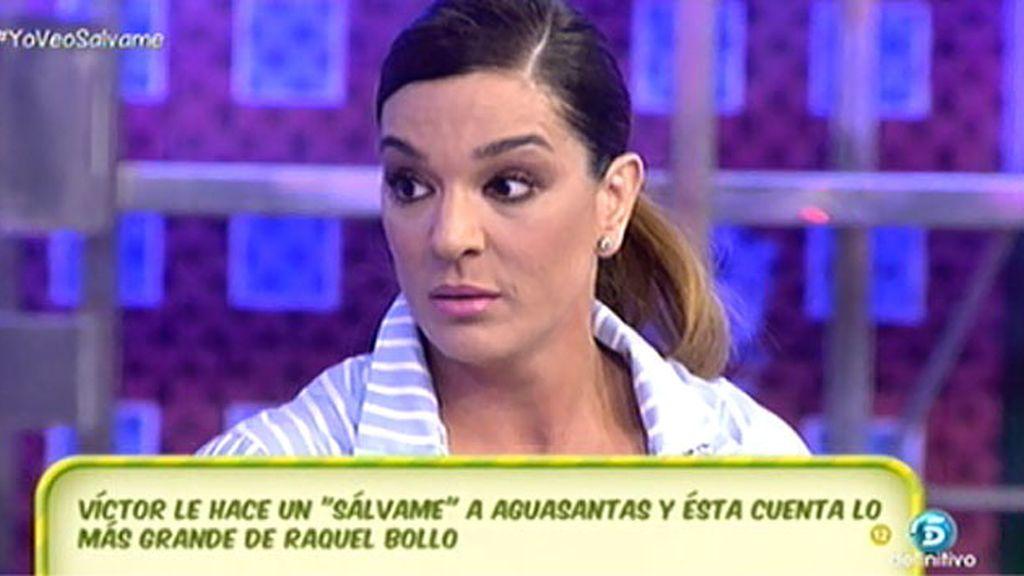 """Raquel Bollo: """"Qué triste que Aguasantas hable otra vez de mi hijo para tener tema"""""""