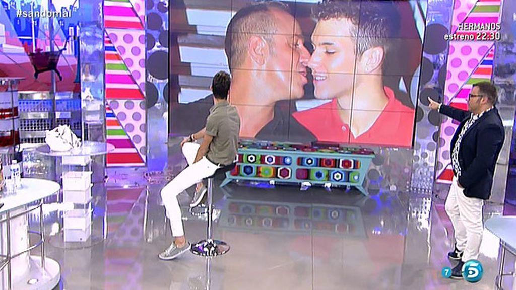 Víctor Sandoval tiene nuevo novio
