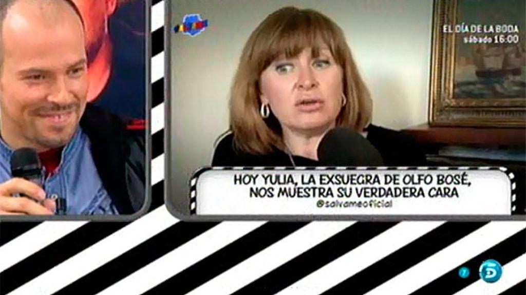 """Yulia, exsuegra de Olfo Bosé: """"Él vive de todo, no tiene ni un céntimo"""""""