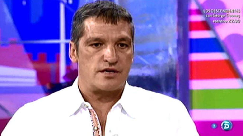 Gustavo González asegura que Jesulín y Natividad Expósito solo se vieron una vez