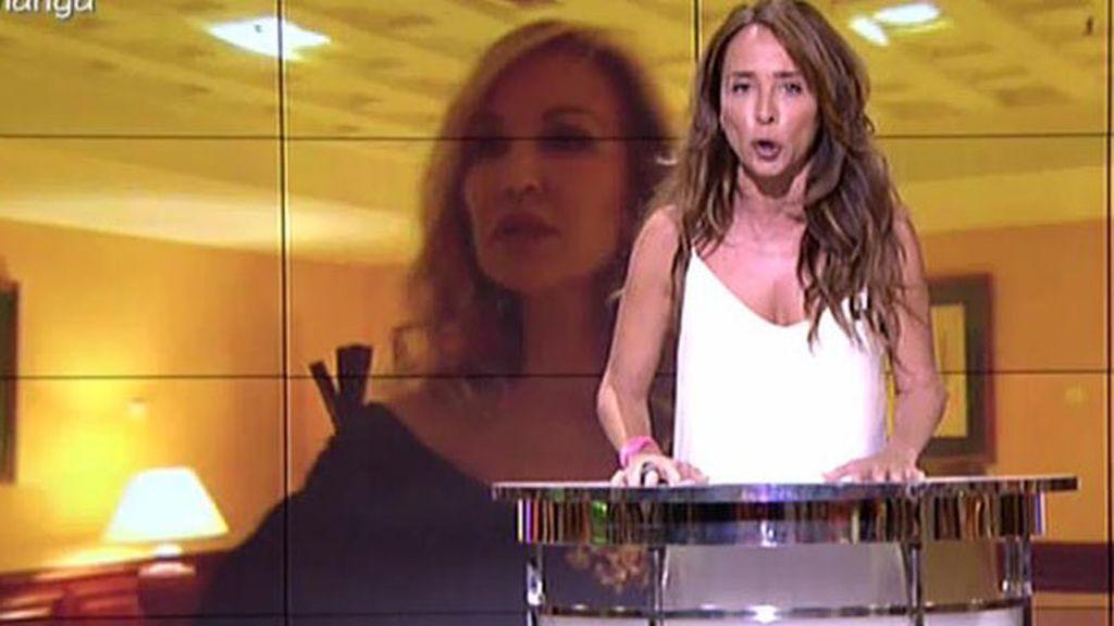 María Patiño lee las últimas voluntades de Fefa, madre de Carmen Lomana