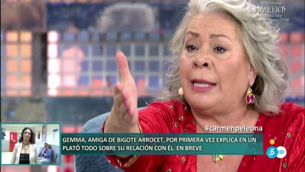 """Carmen Gahona: """"Raquel Bollo llegó a tirarme el dinero que le daba a la cara"""""""