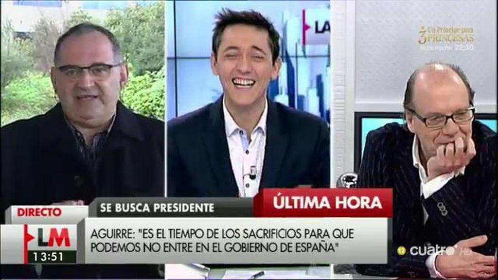 """Antón Losada: """"Rajoy no se ha retirado, está haciendo su 'registrador dancing"""""""