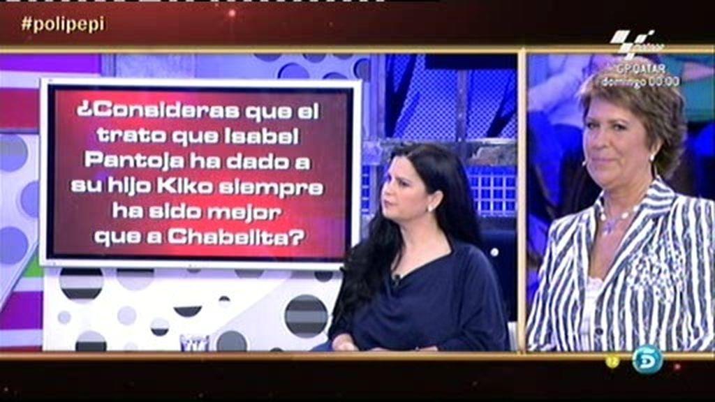 "Pepi Valladares: ""Agustín Pantoja dejó de hablar durante un año a Chabelita"""