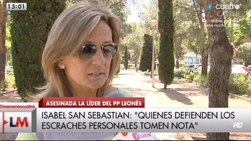 """San Sebastián, sobre el asesinato de Carrasco: """"Es una venganza asociada al cargo"""""""