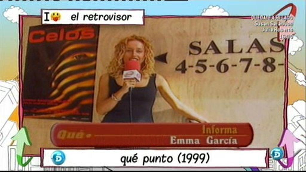 Emma García en el retrovisor
