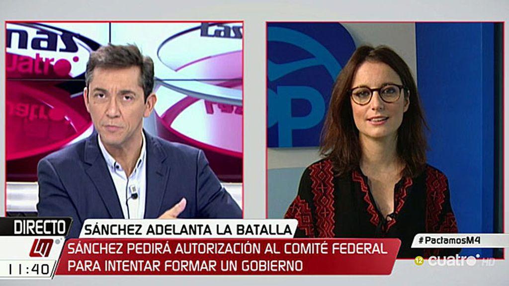 """Levy arremete contra Iceta: """"Es irresponsable preferir pactar con independentistas"""""""