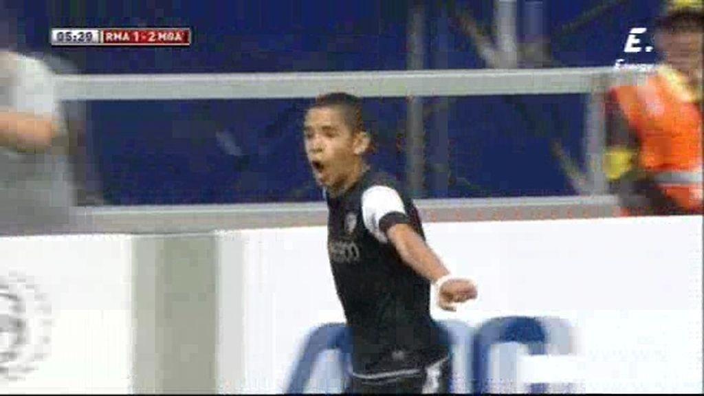 Cristian Delgado desempata con el tercero del Málaga