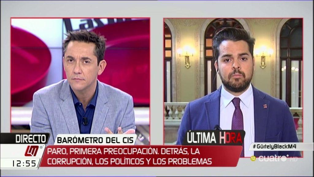 """Páramo (C's): """"Le vamos a dar apoyo a que España se ponga en marcha"""""""