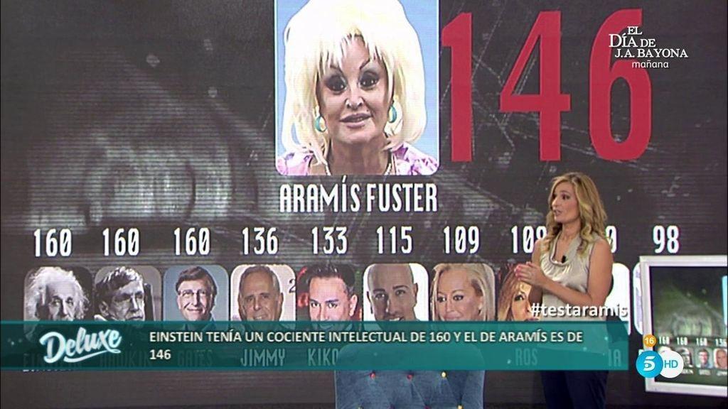 Aramis Fuster es bruja y… ¡súper dotada! Obtiene un 146 de cociente intelectual