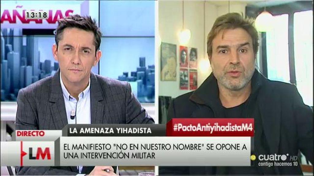 La entrevista con Alberto San Juan, a la carta
