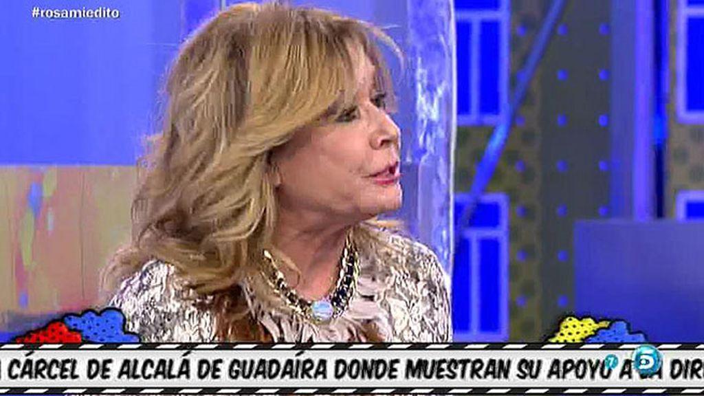 """Mila Ximénez: """"A las espaldas, Rocío Carrasco habla fatal de Amador Mohedano"""""""