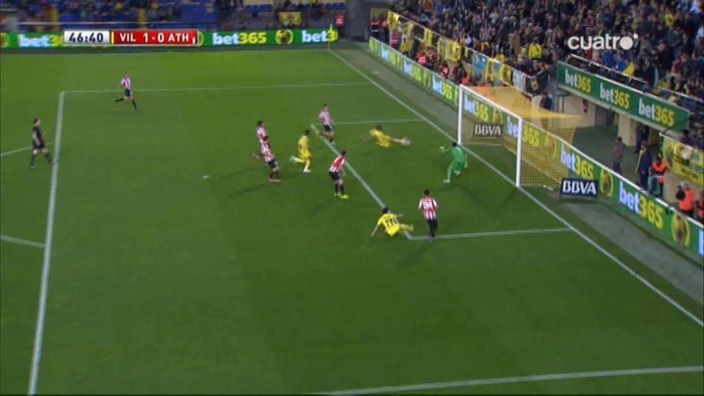 Gol de Pina (Villarreal 1-0 Athletic)