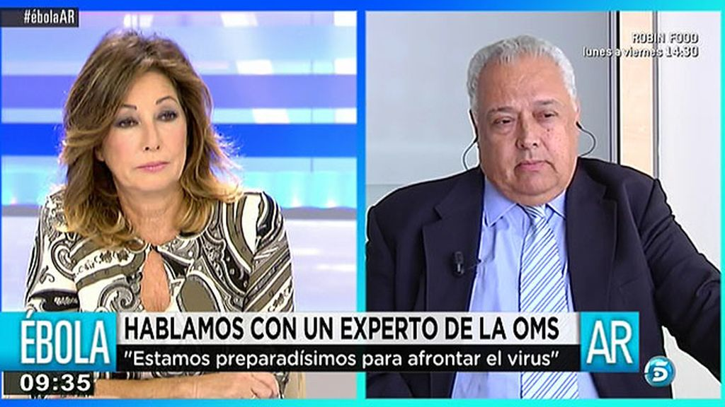 """Santiago Mas Comas, asesor de la OMS: """"No veo fallo de protocolos, veo fallos humanos"""""""