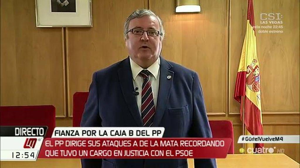 """Marcelino Sexmero apunta que las críticas del PP a los jueces son """"más propias de un abogado marrullero"""""""