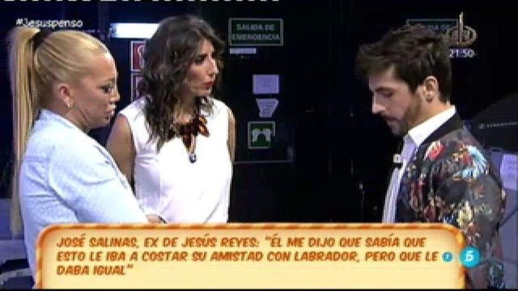 José Salinas desmiente su noviazgo con Jesús Reyes y se declara heterosexual