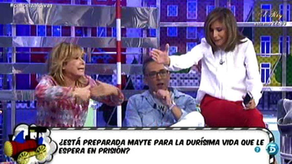 "Mila Ximénez, a Gema López: ""Estoy harta de que fiscalices todo lo que digo"""