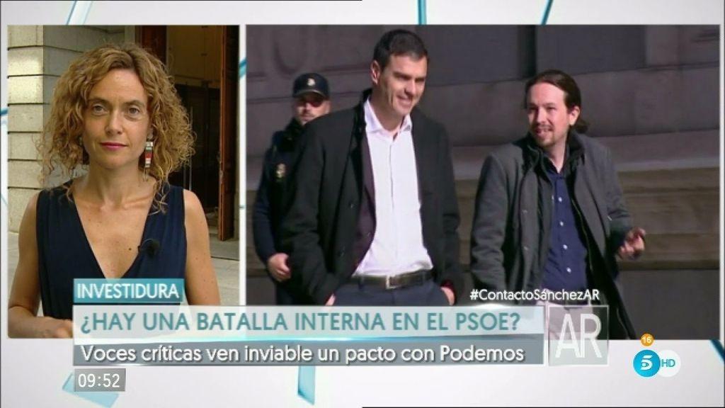 Sánchez busca alternativas pero voces críticas no ven un pacto con Podemos