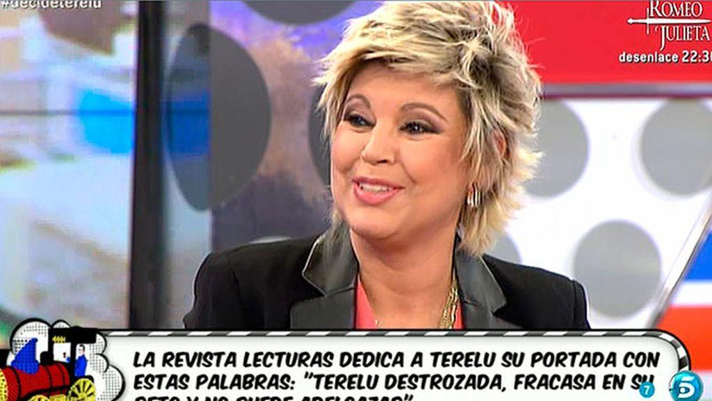 """Terelu Campos, sobre 'Lecturas': """"El precio de mi libertad es esta portada"""""""