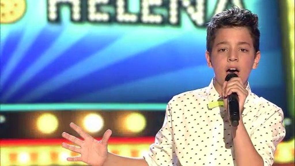 La actuación de Ramón: 'Me cuesta tanto olvidarte'
