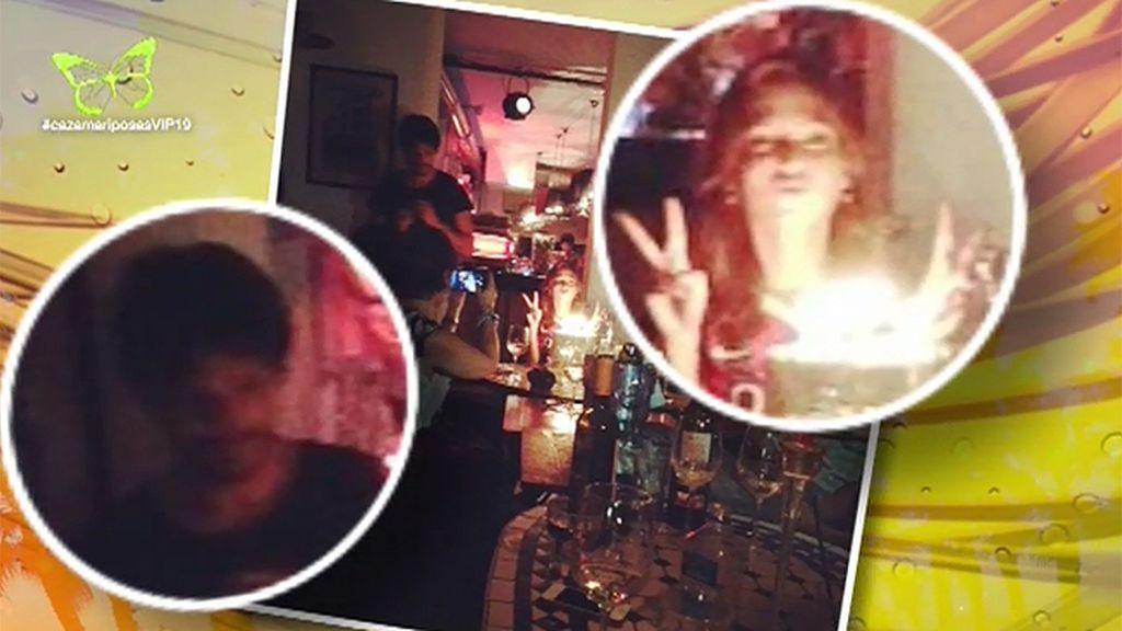 Velencoso, pillado en la celebración del cumpleaños de Úrsula Corberó