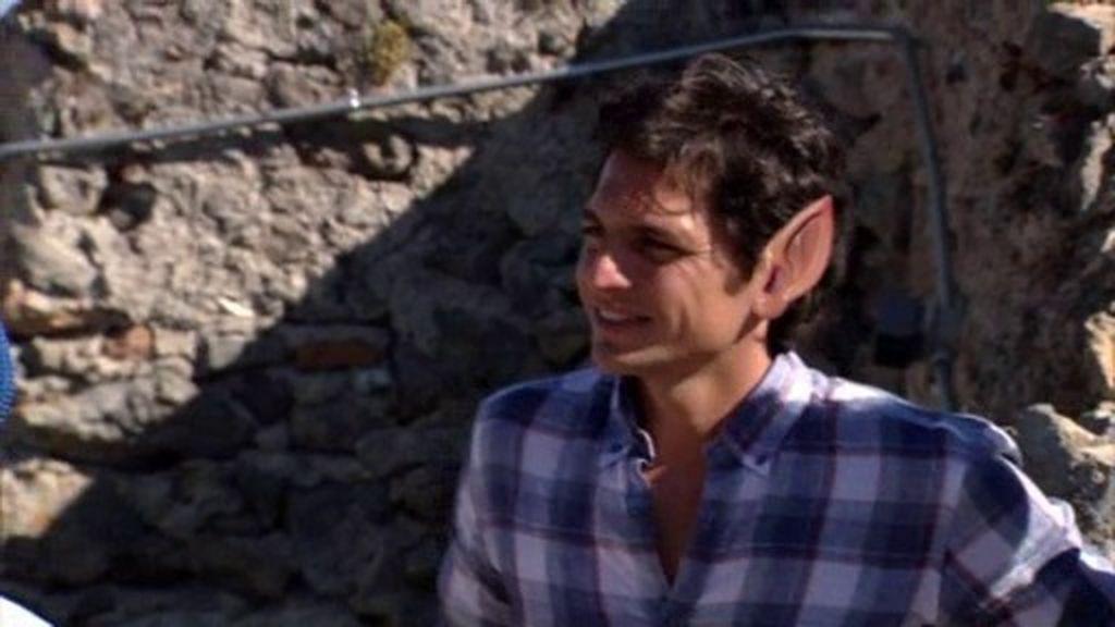 """Juan Carlos: """"Dicen que me parezco a Frodo, sobre todo cuando salgo del agua"""""""