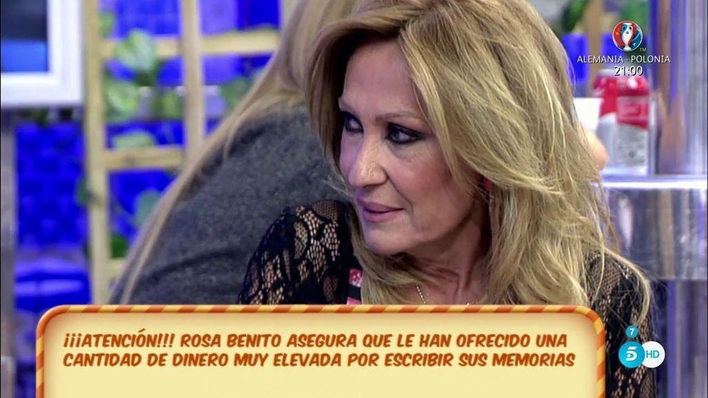 """Rosa Benito no quiere escribir sus memorias porque """"no dormiría tranquila por las noches"""""""