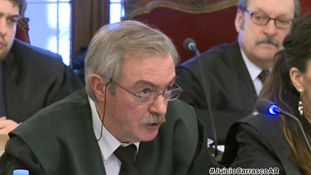 """Fiscal del caso Carrasco: """"La ausencia del abogado de Raquel Gago es un delito"""""""