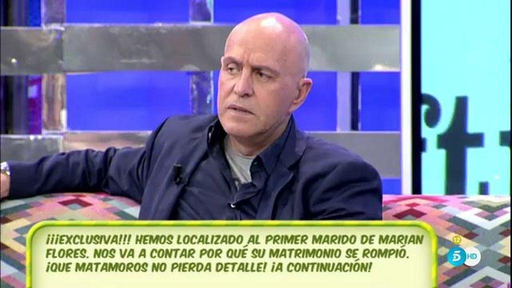 """Kiko Matamoros desmiente: """"Cuando inicio mi relación con Marian ella estaba separada"""""""