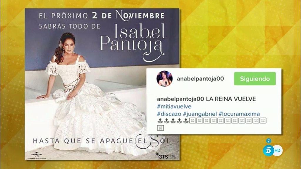 Isabel Pantoja pone fecha a su reaparición ante la prensa: el 10 de noviembre