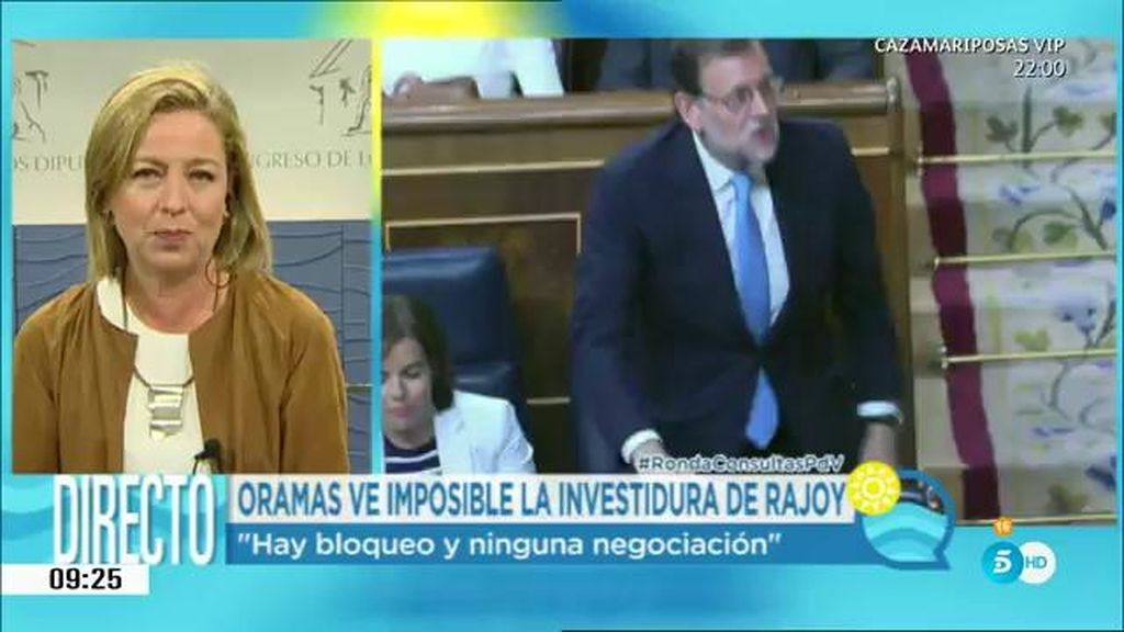 """Ana Oramas: """"Hay bloqueo y ninguna negociación"""""""