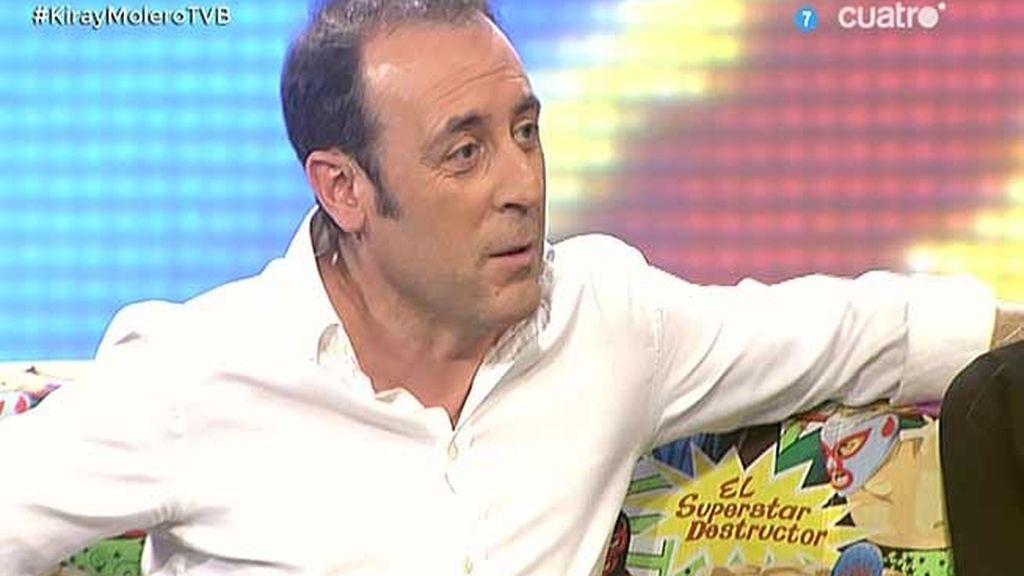 """Antonio Molero: """"Resines y yo nos hemos pasado toda la mañana en la cama"""""""